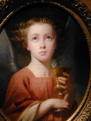 Чарльз Захари Ланделл. Ребенок с чашей