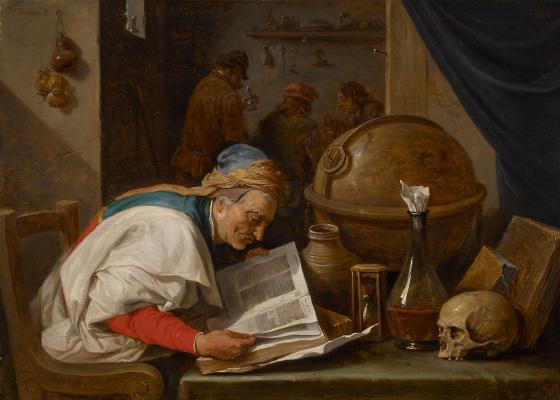 David Teniers the Younger. Alchemist