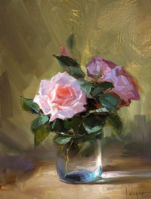 Vladimir Volegov. Roses in December