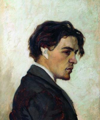 Nikolai Pavlovich Chekhov. Portrait Of A. P. Chekhov