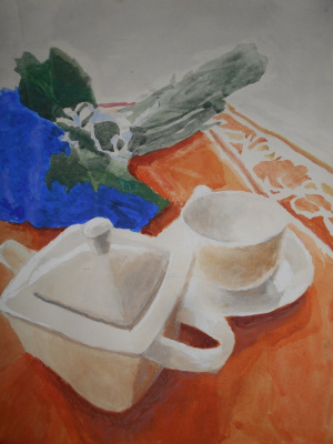 Myud Maryevich Mechev. Joyful still life