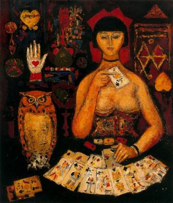 Arturo Souto. The fortune teller