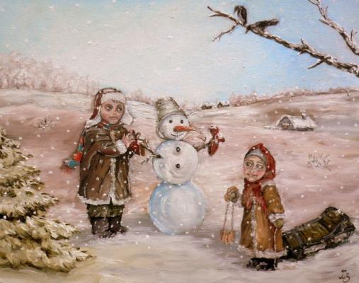 Сергей Николаевич Ходоренко-Затонский. Рождественская открытка