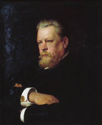 Илья Саввич Галкин. Портрет художника В.Г. Казанцева. 1893