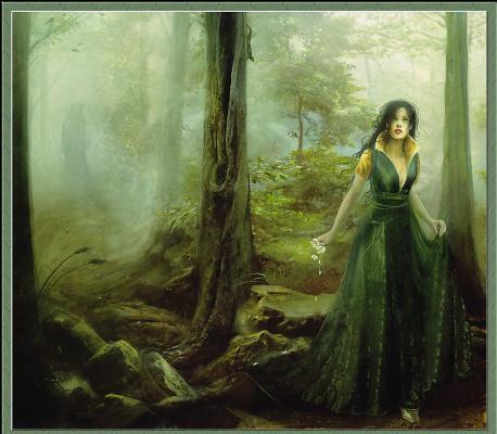 Линда Бергквист. Девушка в страшном лесу