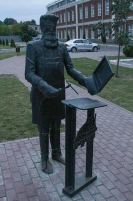 Владимир Волков. Памятник Н. Н. Бенардосу.