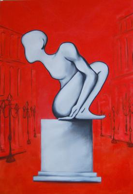 Stanislav. Exit.2009.canvas,oil 100х70