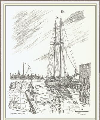 Дженсон Галифакс. Лодка