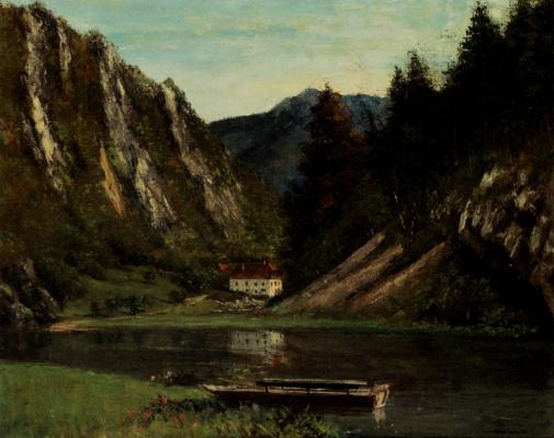 Gustave Courbet. Mr. Mason, Doubs