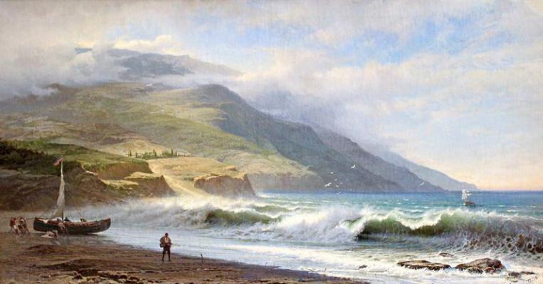 Фёдор Александрович Васильев. Горы и море