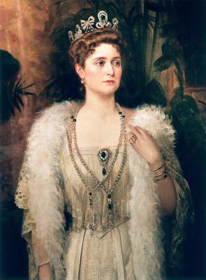 Nikolai Kornilovich Bodarevsky. Tsarina Alexandra