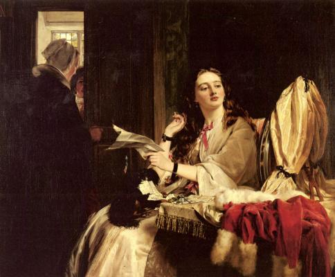 John Callcott Horsley. Valentine's Day