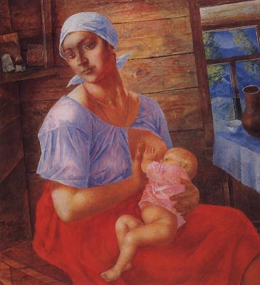 Kuzma Sergeevich Petrov-Vodkin. Mother