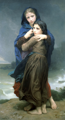 William-Adolphe Bouguereau. Hurricane