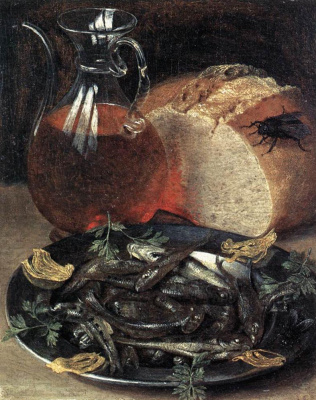Georg Flegel. Still life with fish