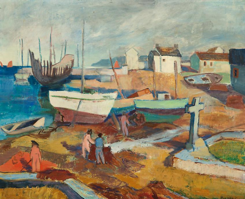 Tove Jansson. On the coast of France