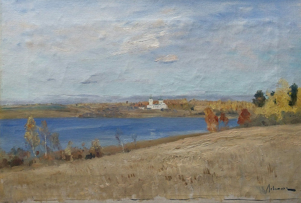 Исаак Ильич Левитан. Осень. Река