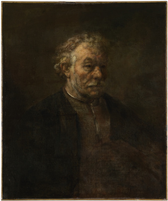Rembrandt Harmenszoon van Rijn. Study of an Old Man