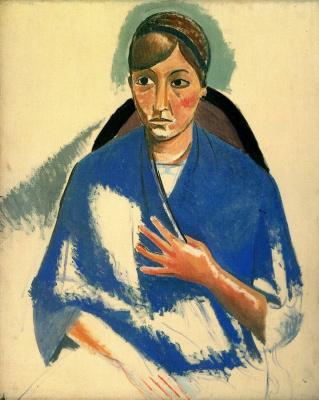 Andre Derain. Portrait of a woman