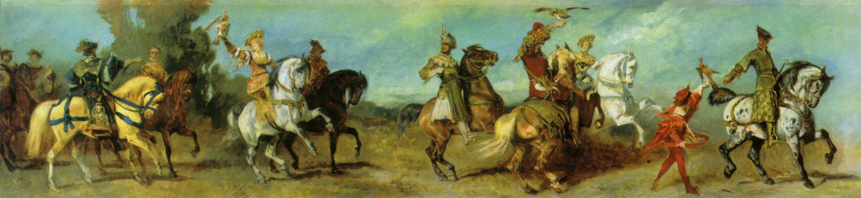 Hans Makart. Hunting