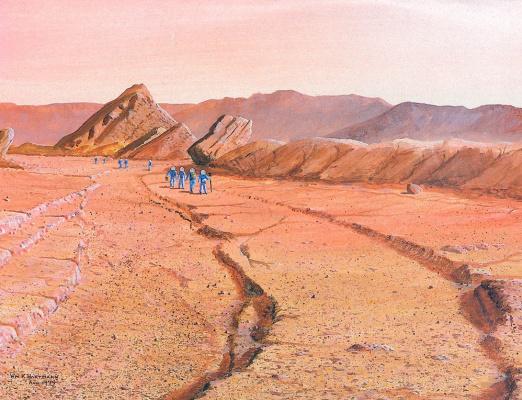 William Hartmann. Martian canal