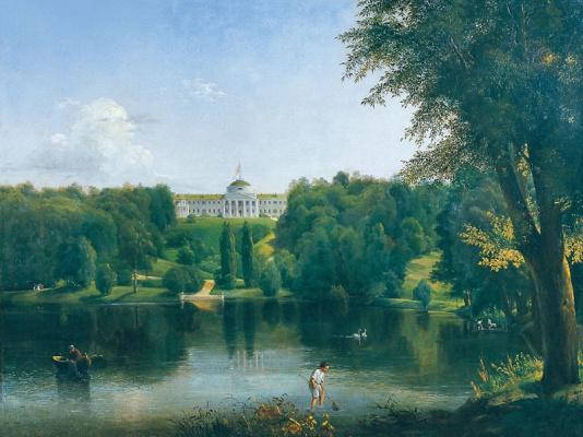 Vasily Sternberg. Estate of G. S. Tarnovsky in Kachanivka