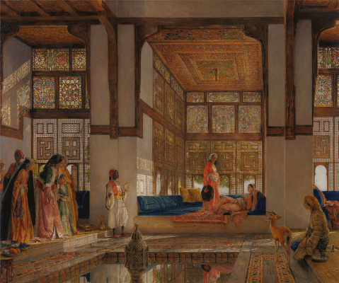 John Frederick Lewis. Welcome to the harem