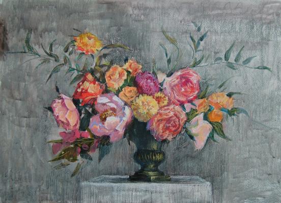 Кристина Ровная. Цветы