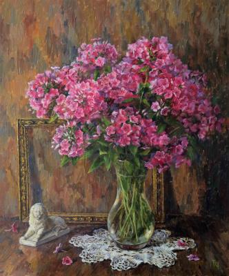 Tatyana Chepkasova. Pink phlox