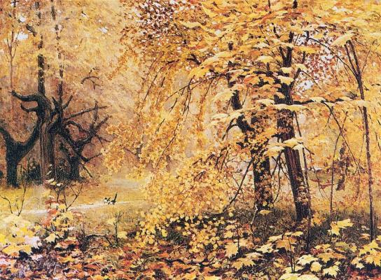 Ilya Semenovich Ostroukhov. Golden autumn