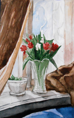 Natalya Dany. March tulips