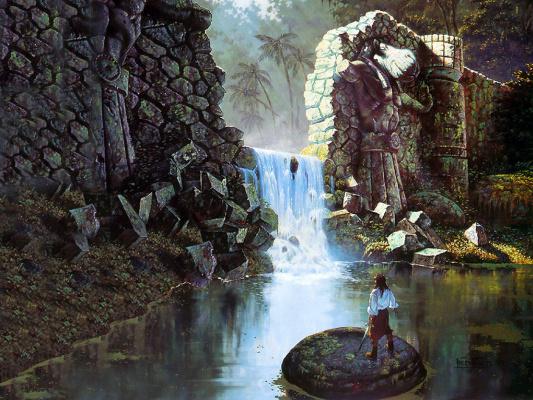 Фред Филдс. Водопад