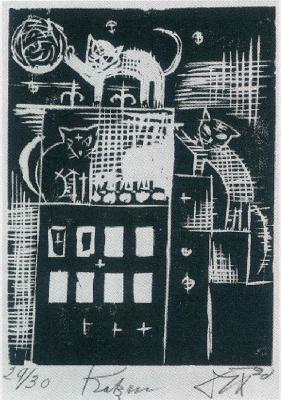 Otto Dix. Cats