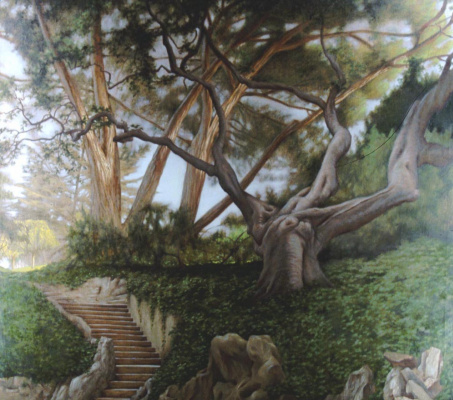 Дэвид Харди. Древний сад
