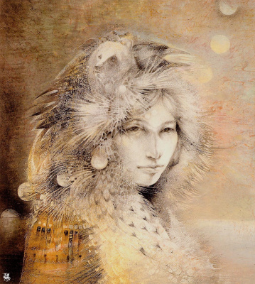 Susan Seddon Boulet. The shaman of the seven moons
