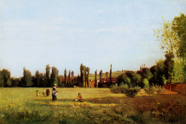Camille Pissarro. Varenne Saint-Hilaire