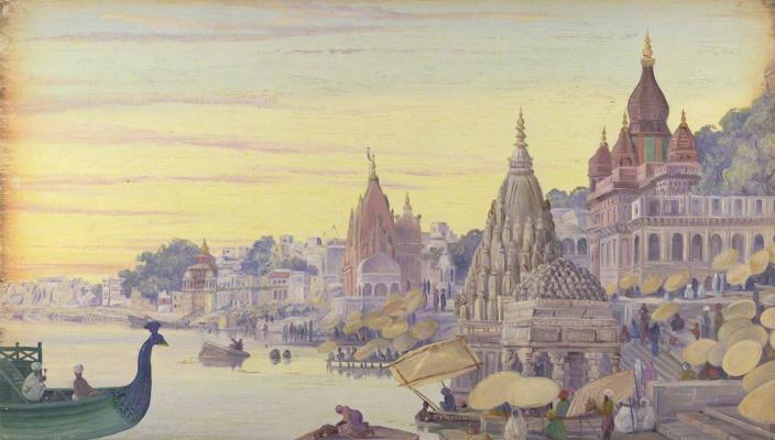 Марианна Норт. Бенарес, Индия. Ноябрь 1878