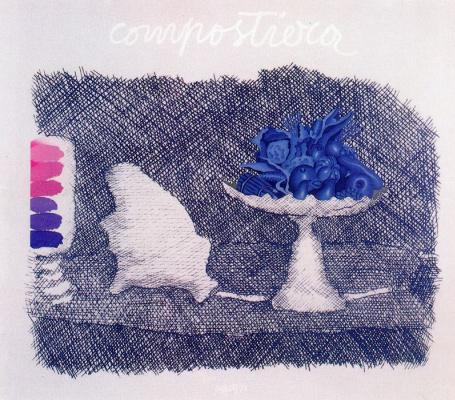 Концетто Позатти. Натюрморт синими красками