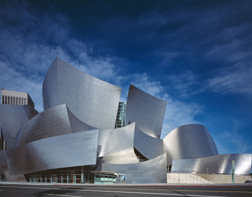 Frank Owen Gehry. Walt Disney Concert Hall