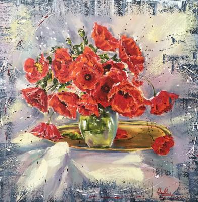Диана Владимировна Маливани. Poppies