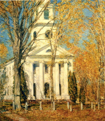 Чайльд Гассам. Церковь в Олд - Лайм