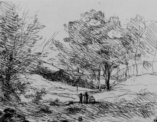 Camille Corot. Remembering Lago Maggiore