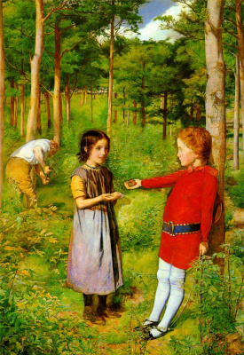 John Everett Millais. Daughter of a lumberjack