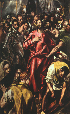 Domenico Theotokopoulos (El Greco). The Disrobing of Christ