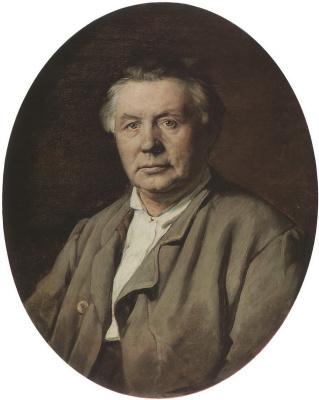 Vasily Grigorievich Perov. Portrait of an unknown