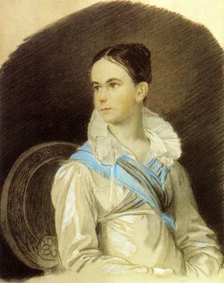 Orest Adamovich Kiprensky. Portrait of Natalia Viktorovna Kochubey