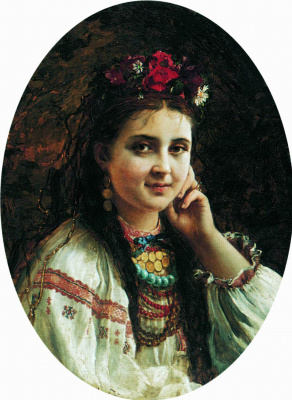 Константин Егорович Маковский. Украинка