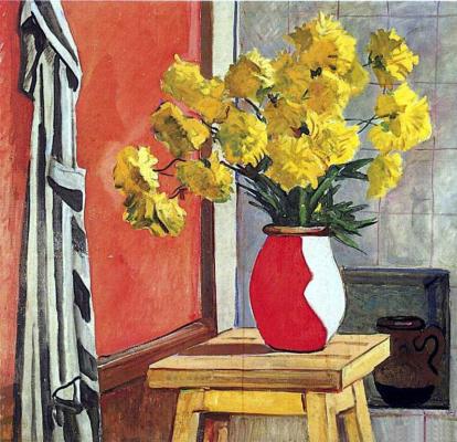 Александр Александрович Дейнека. Желтые цветы
