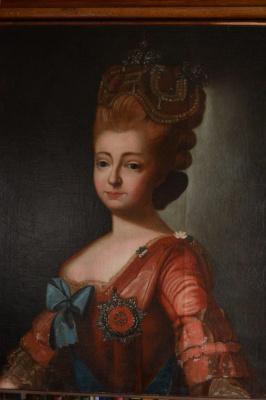 Неизвестный  художник. Портрет Марии 2
