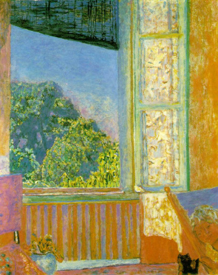 Pierre Bonnard. Open window